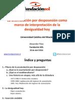 FundaciónSOL-Acumulacion Por Desposesion