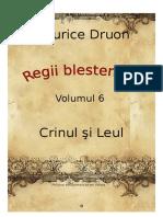 Maurice Druon - Regii Blestemati Vol.6 - Crinul Si Leul [v. BlankCd]
