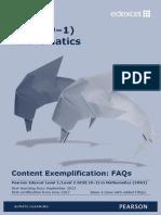 GCSE (9-1) Mathematics Content Guidance Issue 4