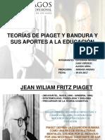 Teorias de Piaget y Bandura