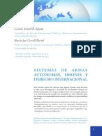 Gutiérrez y Cervell - Sistemas de Armas Autónomas, Drones y Derecho Internacional (2013)