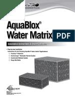 Aquablox Water Matrix Manual