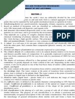 Soil Mechanics and Foundation Engineering - Summary