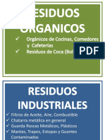 LETREROS RESIDUOS