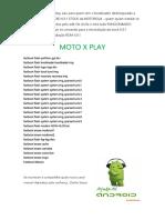 Comandos Para Restaurar a Rom Stok Da Motorola