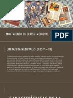 Movimiento Literario Medieval
