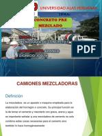 Camiones Mixer y Concreto Premezclado