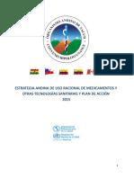 Estrategia Andina de Uso Racional Remsaa 2015