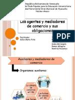 Los Agentes y Mediadores de Comercio