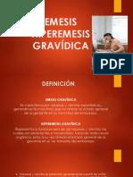 Emesis Hiperemesis Gravídica