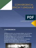 Convergencia, Divergencia y Lenguaje