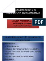 LA ADMINISTRACIÓN Y EL PENSAMIENTO ADMINISTRATIVO.pptx