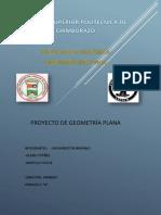 PROYECTO DE GEOMETRÍA PLANA