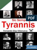 Sic Semper Tyrannis - Fernando Diaz Villanueva
