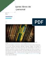 Los 44 Mejores Libros de Desarrollo Personal