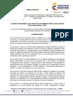 Proyecto Resolucion Inscripcion Saber 11 2016