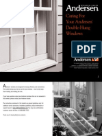 Double Hung Window Care