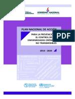 Plan Accion de ECNT 2014