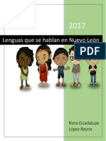 Lenguas Que Se Hablan en Nuevo León Asignatura