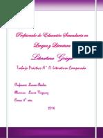 Griego - Literatura Comparada
