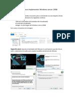 Manual Para Implementar Windows Server 2008