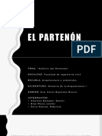 Análisis del Partenón