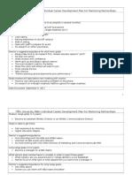 mentorship goals discussion worksheet