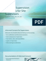 practical supervision strategies for site supervisors  presentation