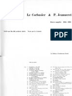 Le Corbusier Complete Works in Eight Volumes Vol. 3 - 1934-1938