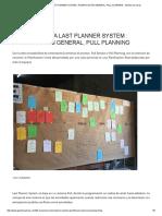 03 Experiencia Last Planner System _ Planificación General, Pull Planning - Gestión de Obras