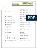 Ecuaciones Facil