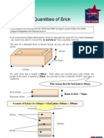 Brickwork Calculating Quantities of Brick