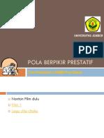 Pola Pikir Prestatif 2015