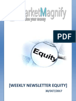 Weekly Newsletter Equity 30-SEPT-2017