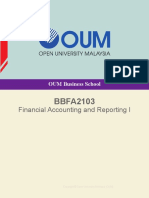 BBFA2103 financial accounting and reporting 1 OUM