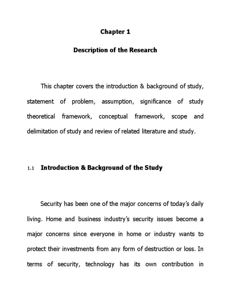 Chapter-1-for-Thesis-Arduino-Final.docx | Security Alarm | Sensor