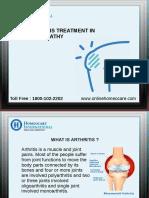 Ricta készülék artrózis kezelésére