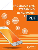 The Facebook Live Streaming Benchmark Report 2017