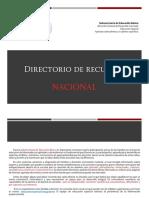 2Directorio Nacional