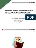 Prevención de Enfermedades Infecciosas Ocupacionales[1]