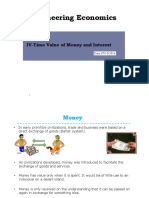 Time Value of Money and Interest