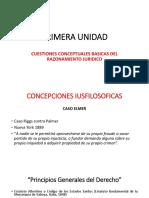 1. CONCEPCIONES IUSFILOSOFICAS