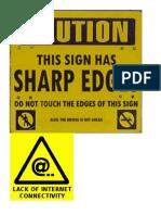 Nick's Warning Signs