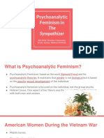 psychoanalytic feminism in the sympathizer
