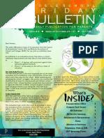 MS Parent Bulletin (Week of October 23 to 27)