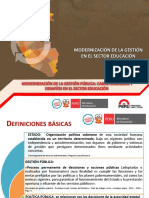Modernización de La Gestión Pública - 270913