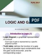 Logic and Gates 2017