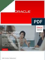 Oracle GoldenGate IRCTC