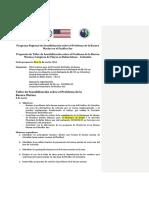 Taller Sensibilización Sobre El Problema de La Basura Marina Colombia Bahía Solano (Rt)