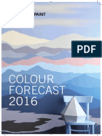Kansai Paint Colour Forecast 2016